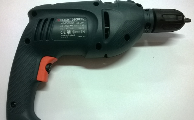ΔΡΑΠΑΝΟΣ BLACK & DECKER KR 650 KCB